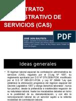 EL CONTRATO ADMINISTRATIVO DE SERVICIOS (CAS)-CURSO DE VERANO UNJFSC