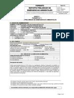 TA-F-71 Reporte Preliminar de Emergencias Ambientales