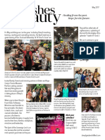 Sheryl's May Newsletter 2017