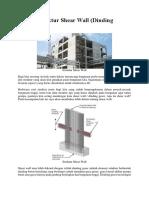 Sistem Struktur Shear Wall