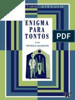 Enigma Para Tontos - Patrick Quentin