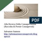 Salvatore Santoru-Alla Ricerca Della Consapevolezza(Raccolta di 'Poesia Consapevole)