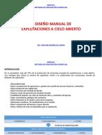 2. Diseño de Explotaciones Superficial (1)