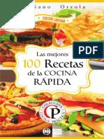 LIBRO LAS MEJORES 100 RECETAS DE LA COMIDA RAPIDA.pdf