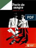 Pacto de Sangre - James M. Cain