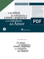 Carlos Maria Galli de Amar La Sabiduria