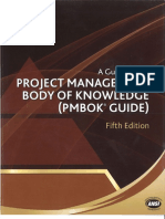 PMBOK 5th Edition Updated