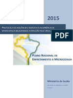Microcefalia - Protocolo de Vigilancia e Resposta