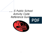 5 public schools activity code reference guide july 2012