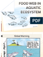 Food Web in Aquatic ecosystem