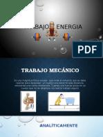 Trabajo Física tipos de energía