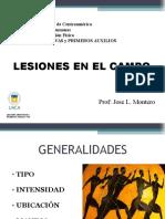 LESIONES DEPORTIVAS VIIII