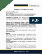 Guía 1. Guía Diligenciamiento Formato Para La Elaboracion de Propuestas