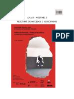 Anais Xx Simpósio Fe Ufg Volume 2