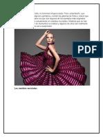 Diseños de Vestidos Reciclados
