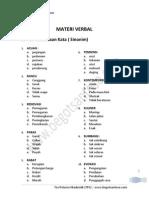 Test Potensi Akademik (TPA)