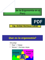 Alcances de La Ergonomia en El Peru