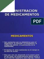 Administracion de Medicamentos Tens