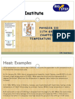 Chapter 9-Heat and Thermal Expansion