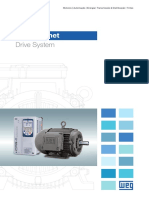 WEG w22 Magnet Drive System 50015189 Catalogo Portugues Br