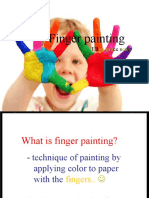 FINGER PAINTING (THERAPEUTIC SKILLS)