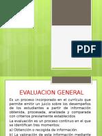 Diapositiva Evaluacion General