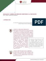Lectura obligatoria 3_Innovación y modelos de negocios