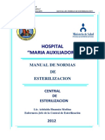 Manual de Normas de Esterilizacion 2012 -22 Oct.