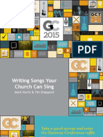 2015 GC Writing Songs Your Church Can Sing