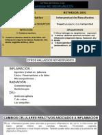 Inflamacion, Radiotrapia,Diu.atrofia