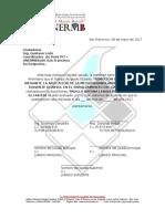Carta de Defensa de La Tesis