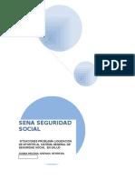 Situaciones Problema Liquidacion de Aportes Al Sistema General de Seguridad Social en Salud