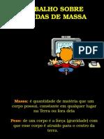 Medidas de Massa