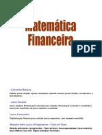 Matemática Financeira 2