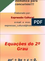 Equações Do 2 Grau