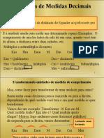 Sistema de medidas decimais..pps