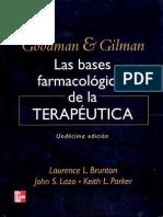 Farmacología de Goodman y Gilman