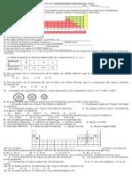 Evaluación Propiedades Periódicas 2017