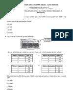 Entrenamiento Competencias Matematicas 2