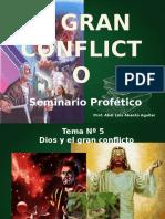 presentaciones del conflicto entre Cristo y satanas