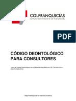 Codigo Deontologico Consultores-colfranquicias