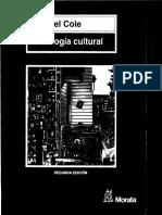 Cole - Psicología Cultural