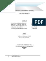 Primera Entrega Proyecto Etica Empresarial