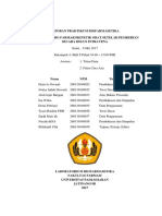 Kelompok 4 - Laporan Praktikum Biofarmasetika Model in Vitro Farmakokinetik Obat
