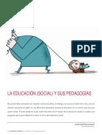La Educacion-social- y Sus Pedagog