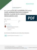 Contexto de LADM Artículo Geoespacial