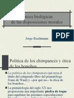 Raices Biologicas de Las Disposiciones Morales