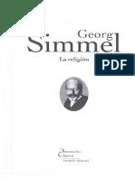 Simmel Georg - La Religión
