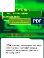 Comprehensive Review in LEA