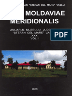 30 Acta Moldaviae Meridionalis XXX Vol 2 2009